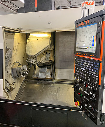 Pic of our CNC machine